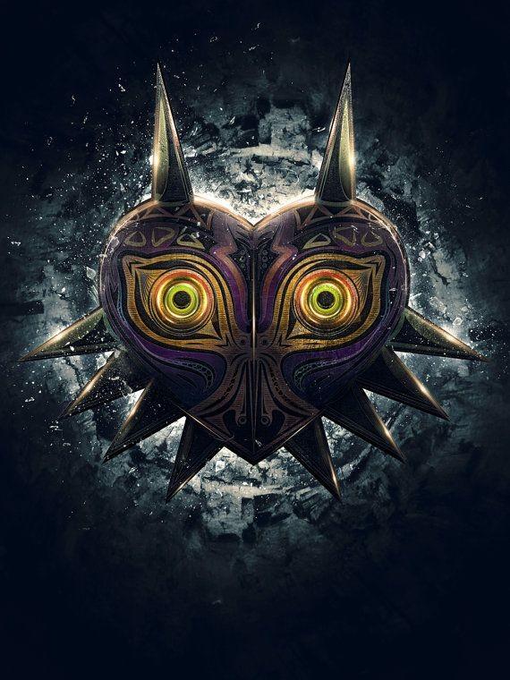 Legend of Zelda Majora's Mask Epic Poster by barre...