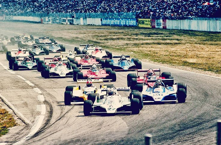 Start of the 1979 German Grand Prix