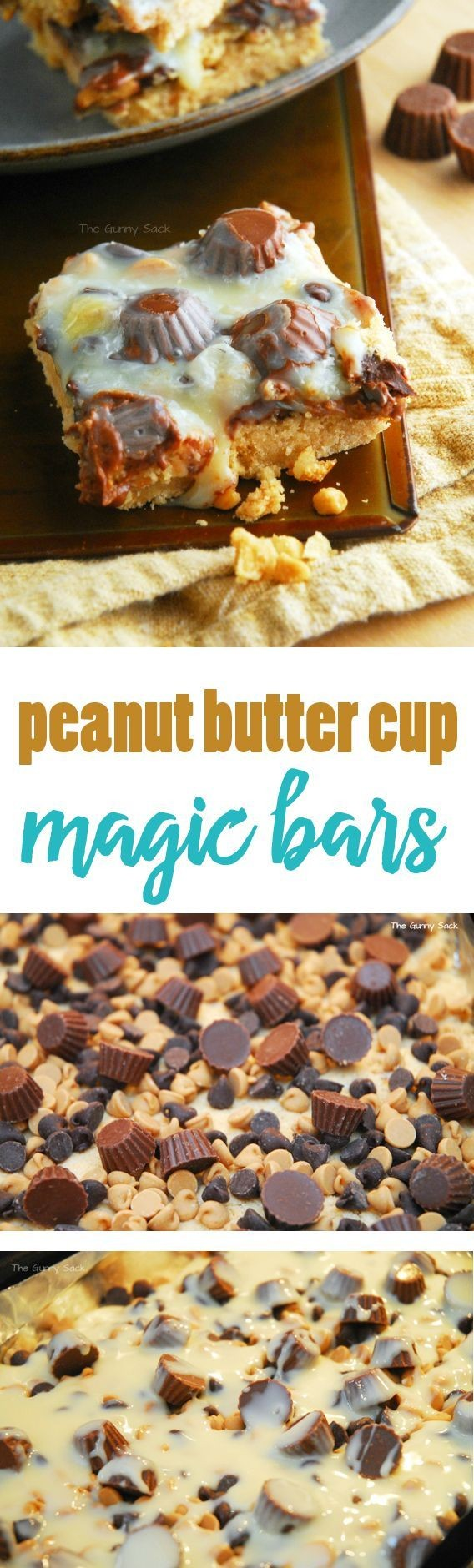 Peanut Butter Cup Magic Bars Recipe | Reese'...