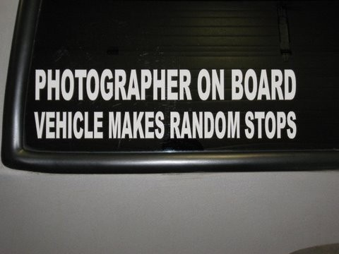 funny... I should put one of these in my car (not...