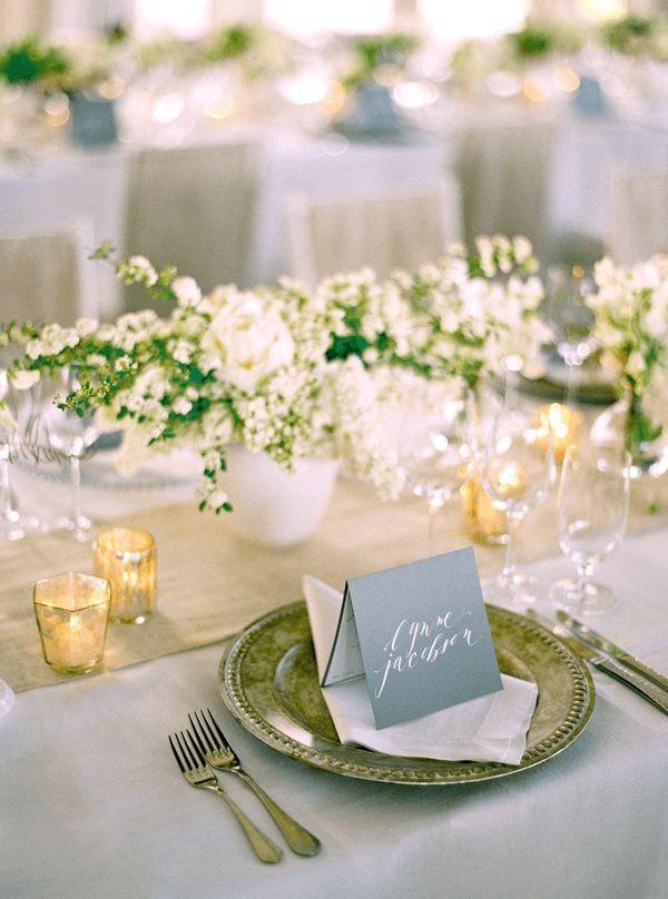 folded menu + place card | @Laurie Arons + Jose Vi...