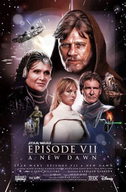 Star Wars Episode VII - maybe? Seriously though, t...