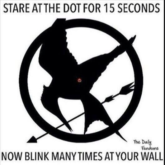 The Hunger Games - IT WORKS! When you blink (while...