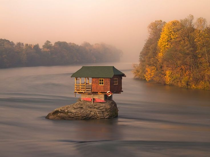 River House, Serbia. Photograph by Irene Becker. A...