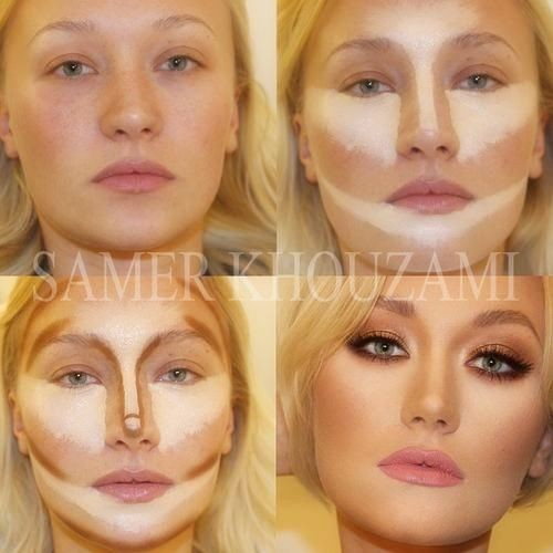 The power of highlight and contour. Why is it when...