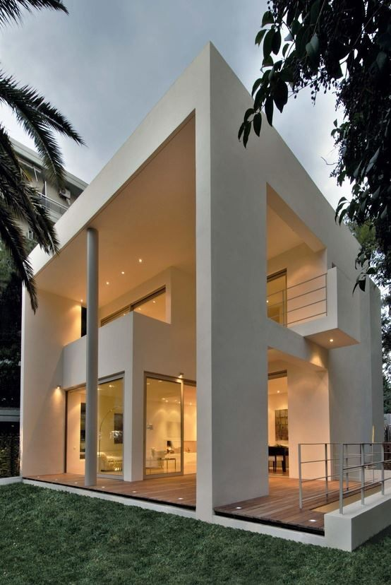 Detached house in Kifissia, Athens / Katerina Vals...