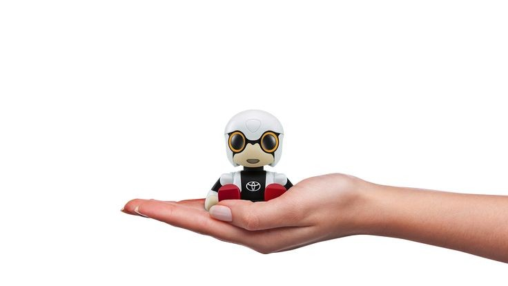 Meet Toyota's Kirobo Mini, a new, 10cm high, commu...