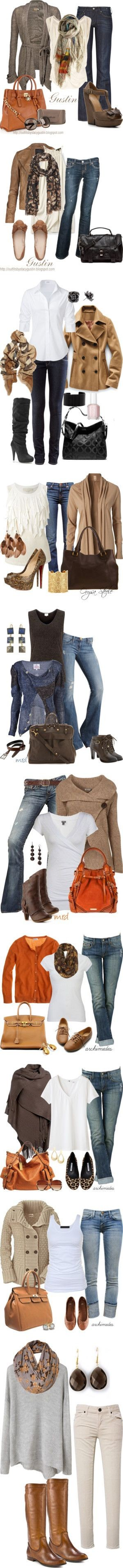 """""""fall casual"""" by jesnik ❤ liked on Polyvore"""