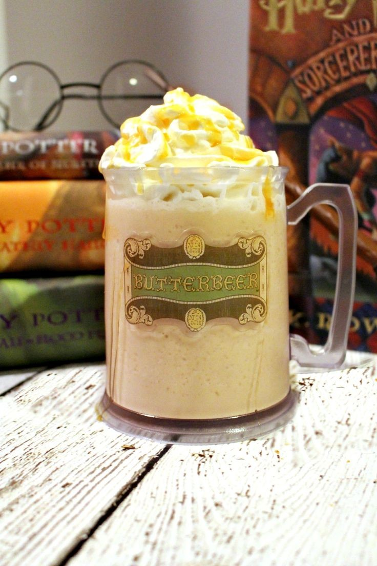 best butterbeer recipe: ice cream, cream soda, imi...