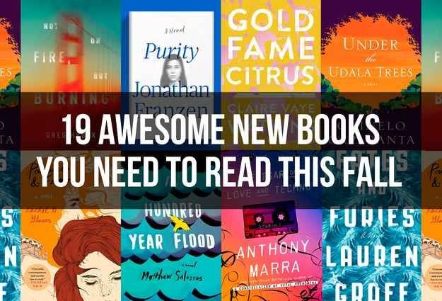 *19 Awesome New Books You Need To Read This Fall