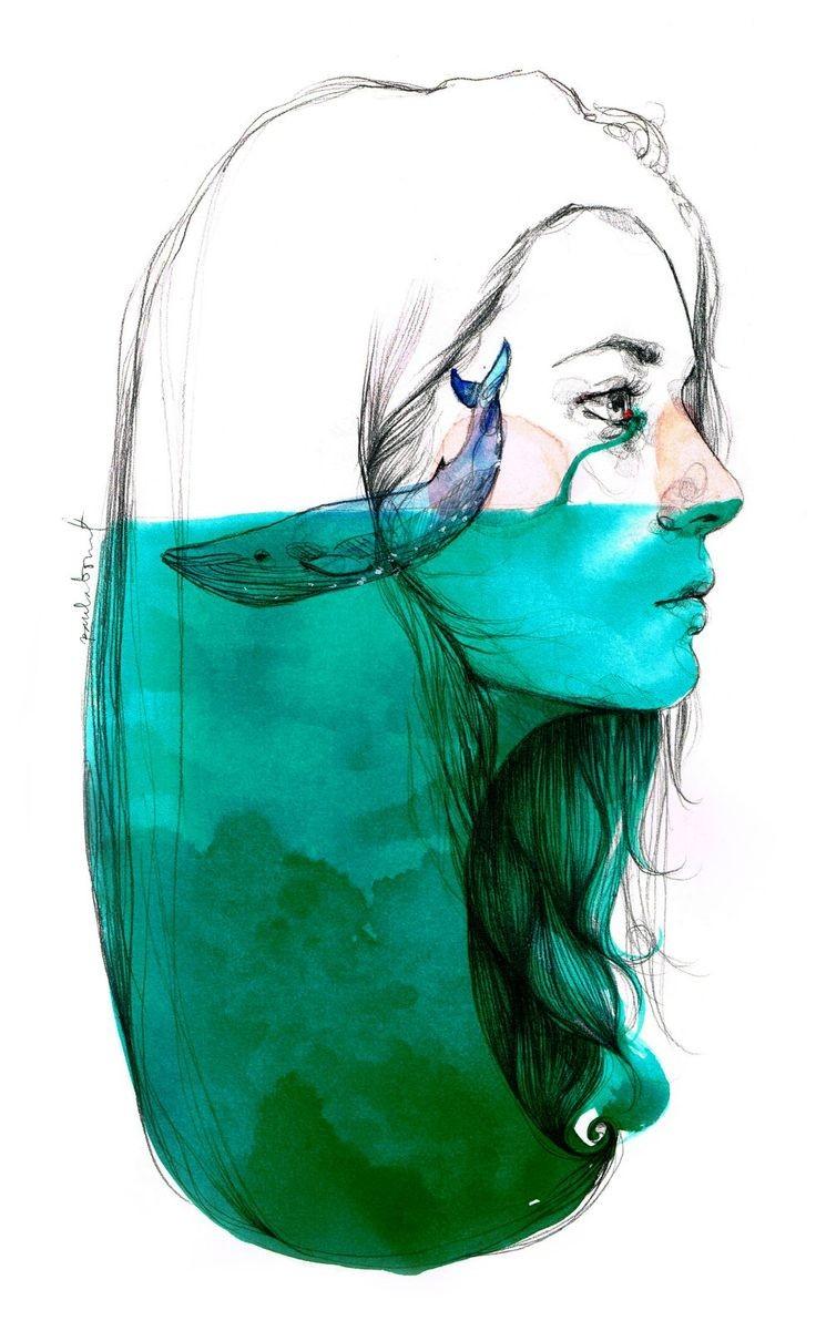 """""""A veces lloramos tantas lágrimas que en ella..."""