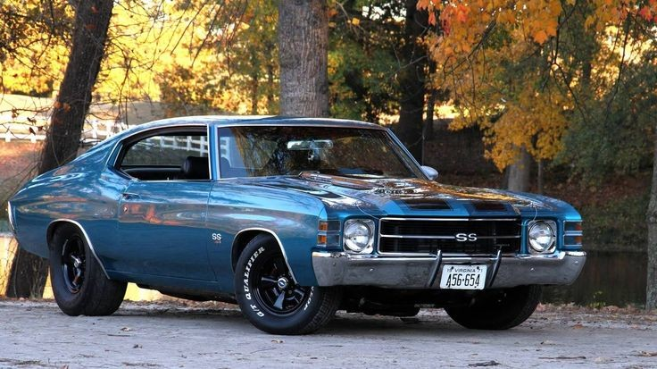 1971 Chevelle SS. My ex and i rode around in one j...
