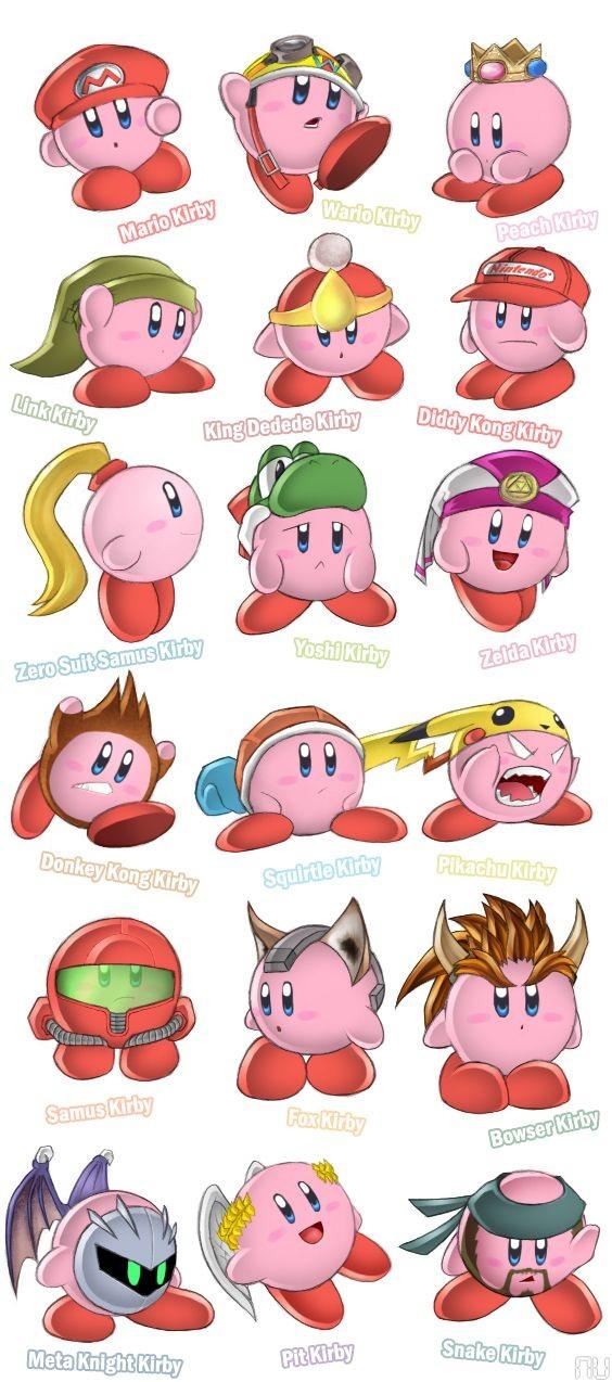 Ummm I like Peach Kirby!!! I would now like my cro...
