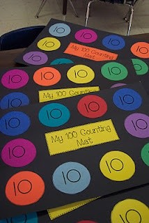 love for mats for kids to count 100 objects