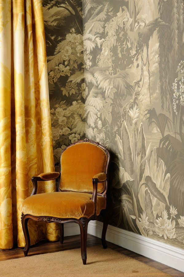 de Gournay: Our Collections - Wallpapers & Fab...