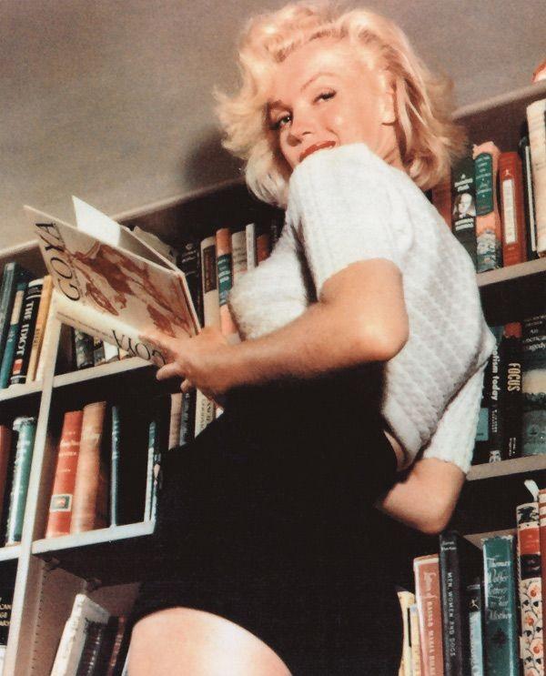 When she died in 1962, Marilyn Monroe's library in...