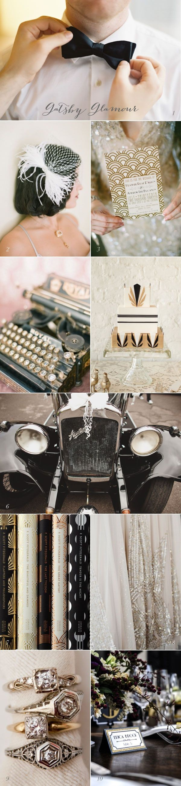 Current Crush Great Gatsby Wedding Inspiration If...