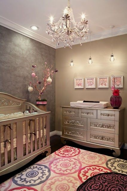 girl nursery...find this furniture at Love Bug Bab...