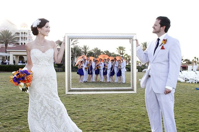 Southern-Gators Wedding by Details Flowers & P...
