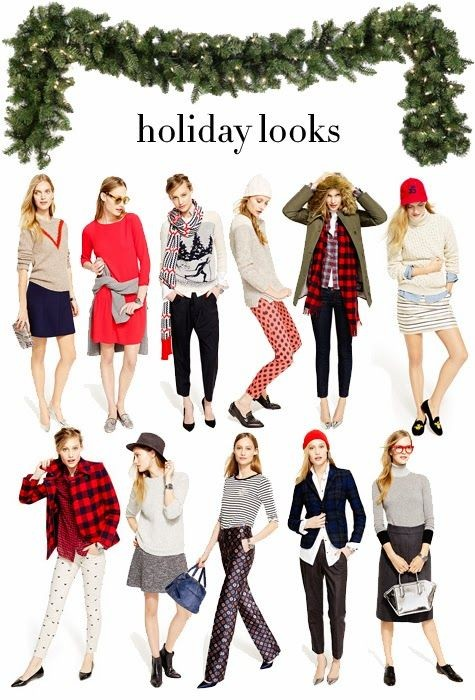 Holiday Outfits. Kinda love them all.  especially...