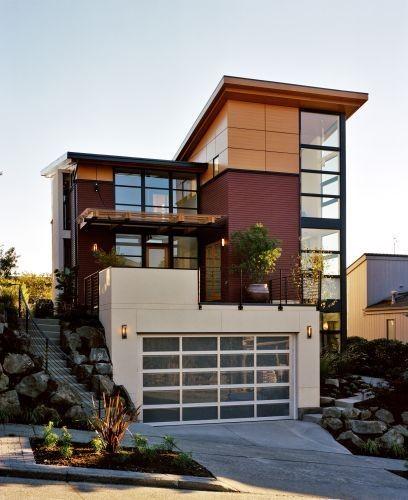 Minimalist Exterior Home Design Ideas: Minimalist-modern-wooden-house-exterior-design.