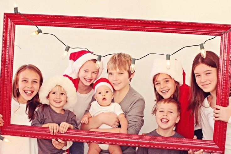 Cute Christmas photo, but could adapt this one by...