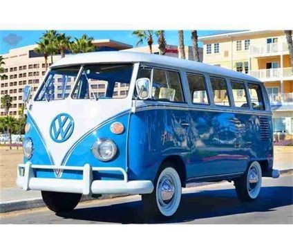 1966 Volkswagen Bus For Sale is a Blue, White 1966...