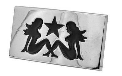 Two Lesbians - Hot Girls - Double Girl Symbol - St...