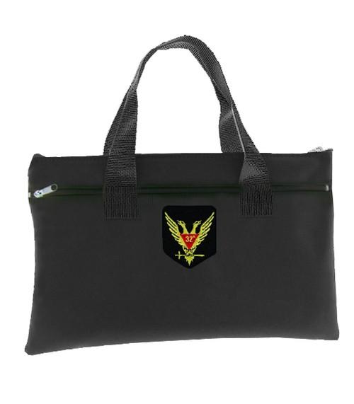 Tote Bag Scottish Rite Wings Up 32nd Degree - Blac...