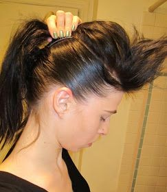 Inspired Xpression: How to Make a Mohawk with Long...