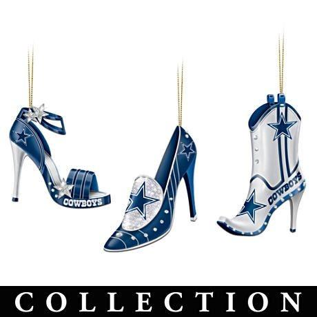 a7cb71daa72 Dallas Cowboys High Heel Shoe Ornament Collection for my cowboys ...