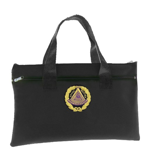 Black Grand Master Masonic Tote Bag for Freemasons...