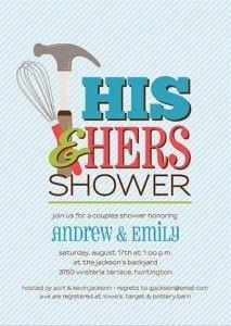 couples shower ideas | Shower Invitations | Invita...