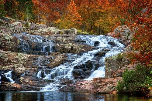 Rocky Falls, Winona, Missouri, found out where it'...