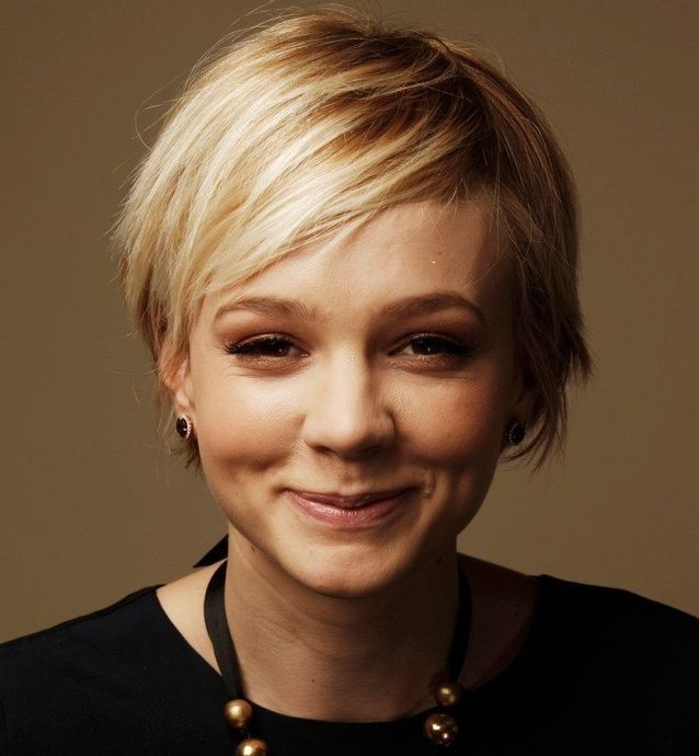 I like this super short cut: Piecey to the side ba...