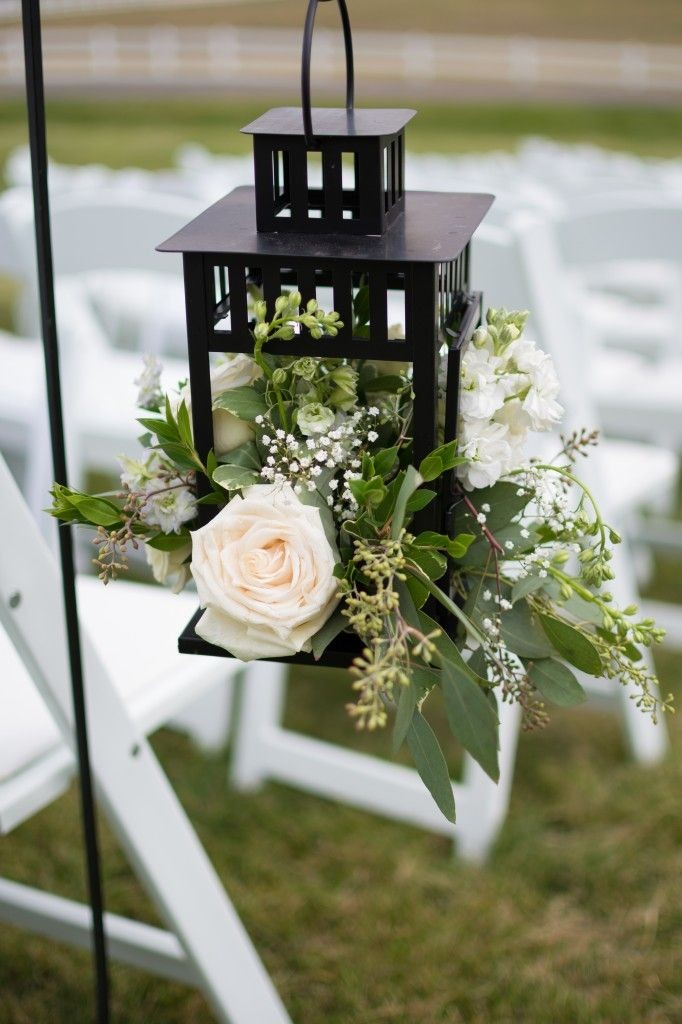floral and lanterns | ceremony flowers | A Castle...