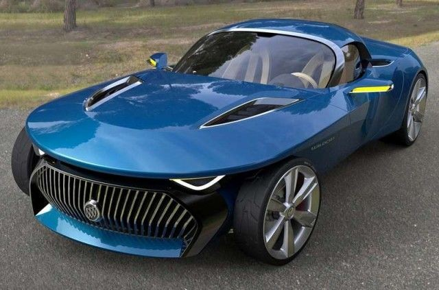 2013 Buick Wildcat concept - inspired by the 1954...