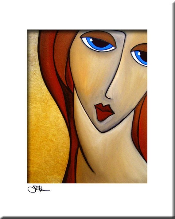 Only One Love  Original Abstract painting Modern p...