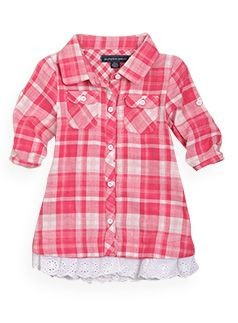 Pumpkin Patch, western check dress....cute