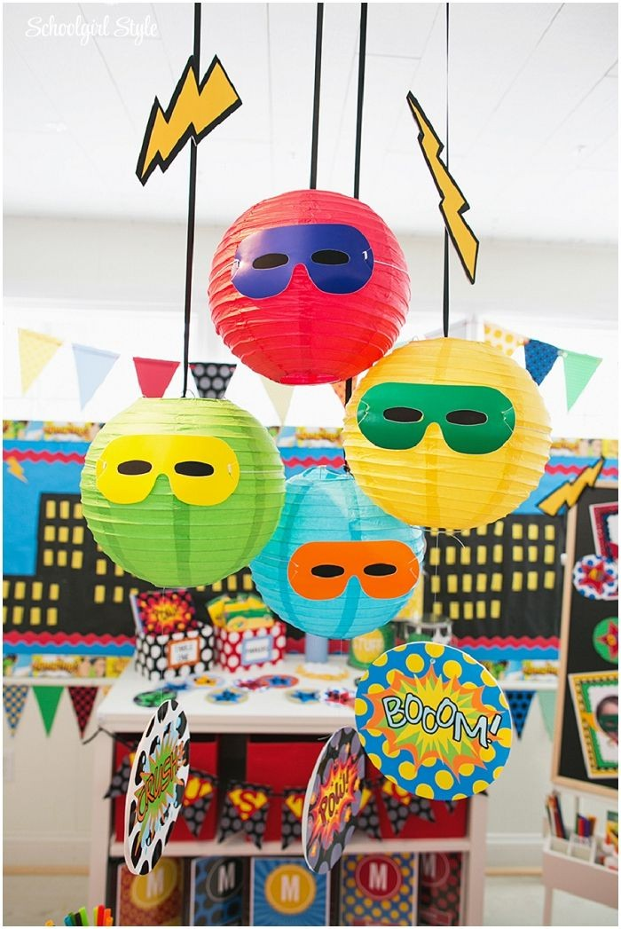 Superhero classroom theme and decor ~Classroom dec...