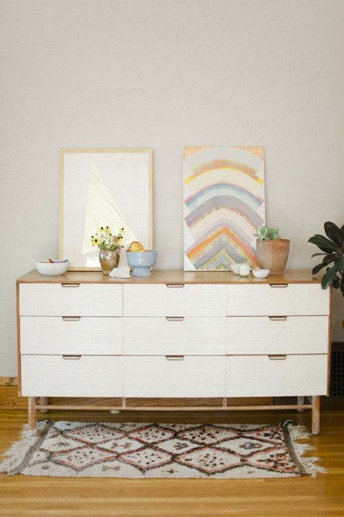 This dresser was a mid century find from Golden Ag...