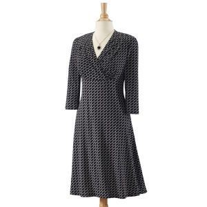 Petites Timeless Crossover Dress - Women's Clothin...