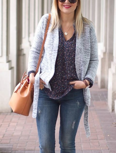 How to Wear Sweaters Based on Your Body Type via @...