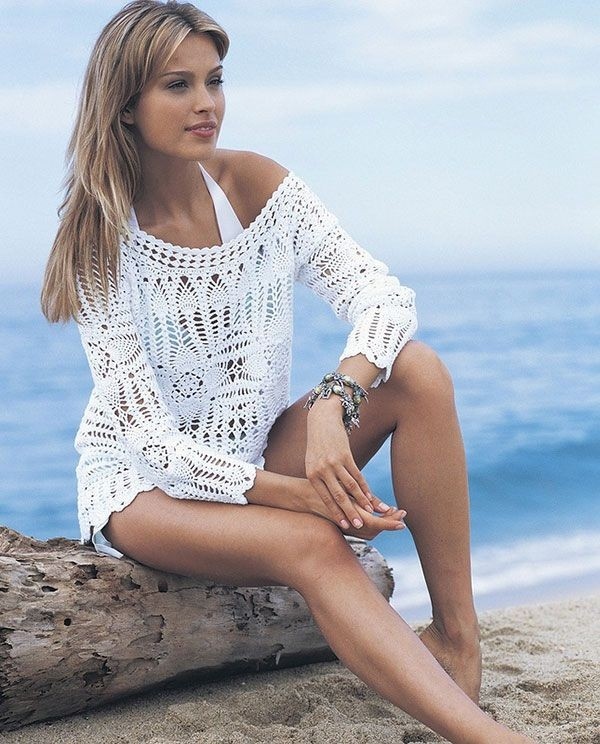 Crochet Beach Cover Up Pattern Posted By Guadalupe511 On Diy And