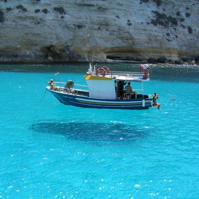 This picture is taken on One House Bay in Greece....