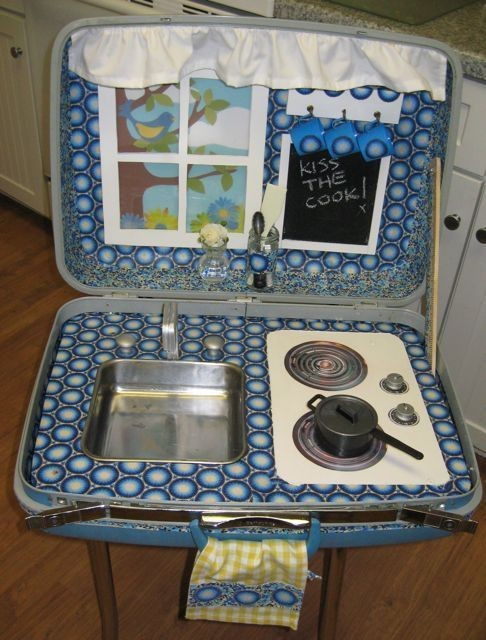 mommo design: IN A SUITCASE.....play kitchen