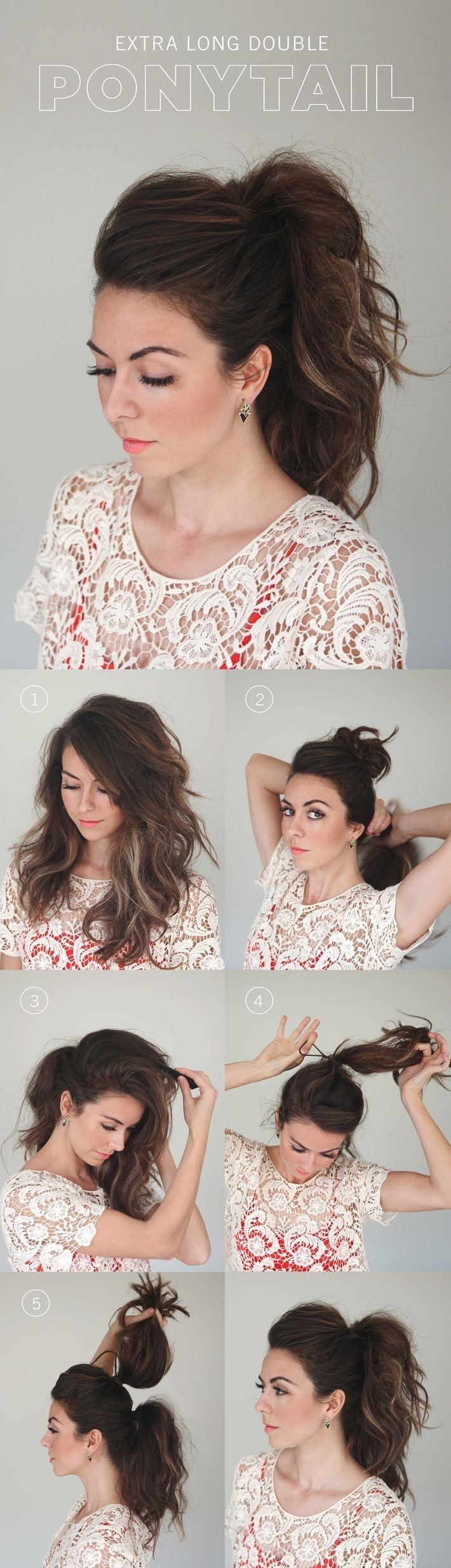 Create the Perfect High Volume Ponytail in 7 Easy...