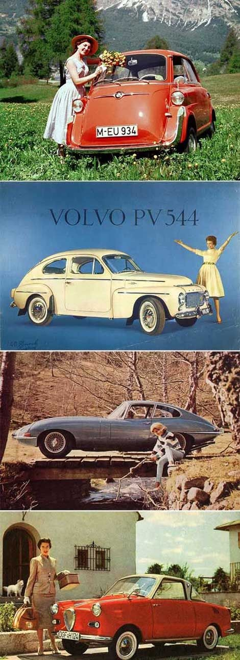 Vintage cars.  I had to drive my dad's Volvo like...