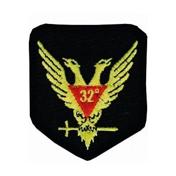 Masonic Patch Scottish Rite Wings Up 32nd Degree f...