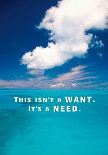Need for the beach, ocean, and salt air